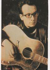 Elvis Costello Autogramm signed 15x21 cm Karteikarte mit Magazinbild
