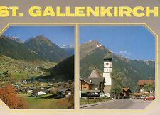 Alte Postkarte - St. Gallenkirch