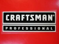Craftsman professional Tool Box Badge: Chest/cabinet,emblem,decal,sticker,logo