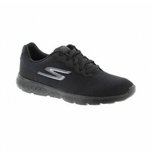 Détails sur Chaussures Skechers Go Run 400 Action Mousse À Mémoire 14351 BBK Black Femme