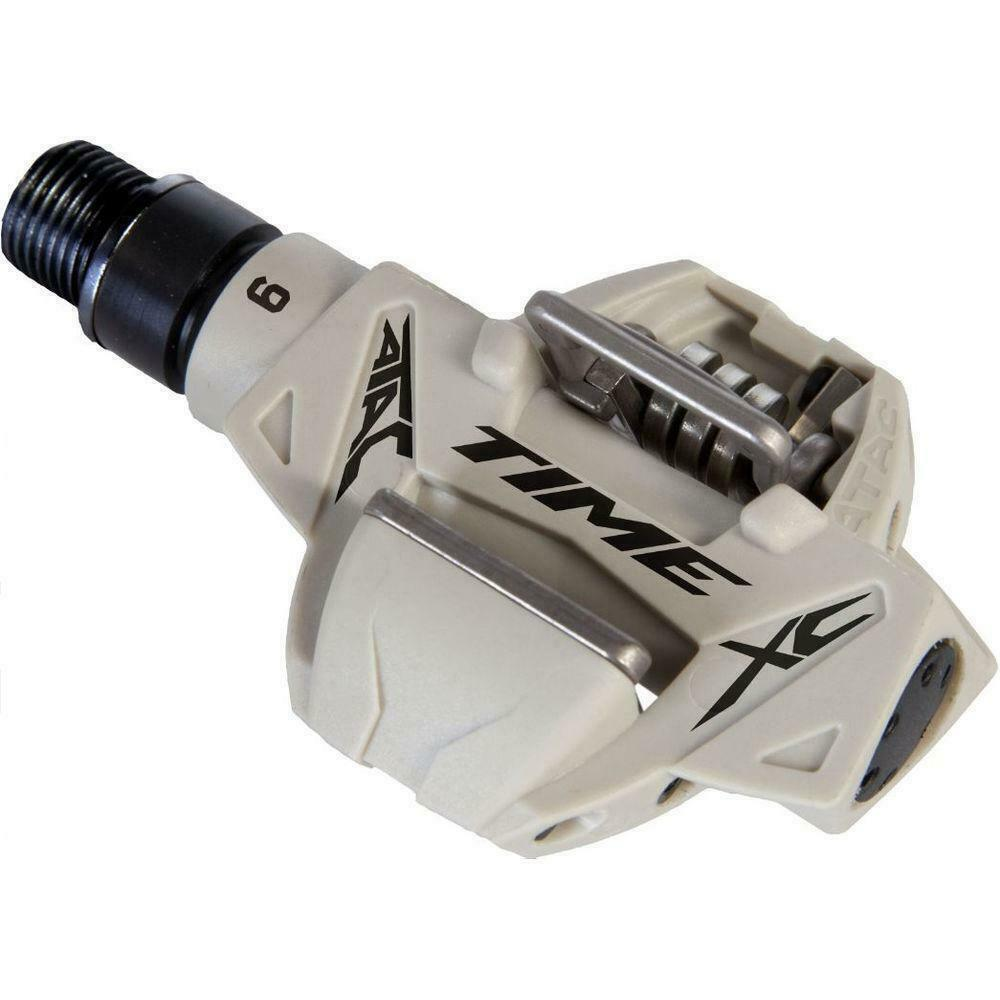 Time ATAC XC6 MTB Pedals White, Pair   first-class service