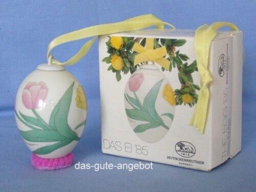 HUTSCHENREUTHER-l' oeuf 1985-porcelaine porzellanei-comme neuf-emballage d'origine - 1. choix