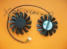 75mm Video Card Dual Fan for MSI GTX670 GTX680 R7850 R7870 Twin Frozr III 52mm