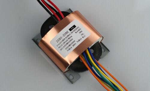 30VA copper R-core transformer 0-220V*2+0-7V*2 for tube preamp Transformator