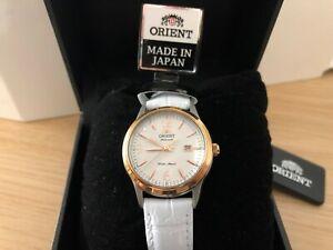 Orient-orologio-meccanico-automatico-da-donna-cinturino-in-pelle-Nuovo