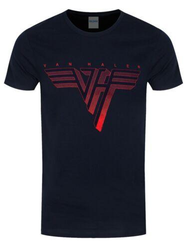 Van Halen T-shirt Classic Logo Navy Men/'s