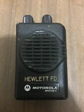 Motorola Minitor V 5 Low Band Pagers 46100 46200 Mhz Stored Voice 2 Channel