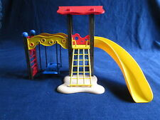 Playmobil Lot 5612 Playground Park City Life Play structure Swing Slide Climbing