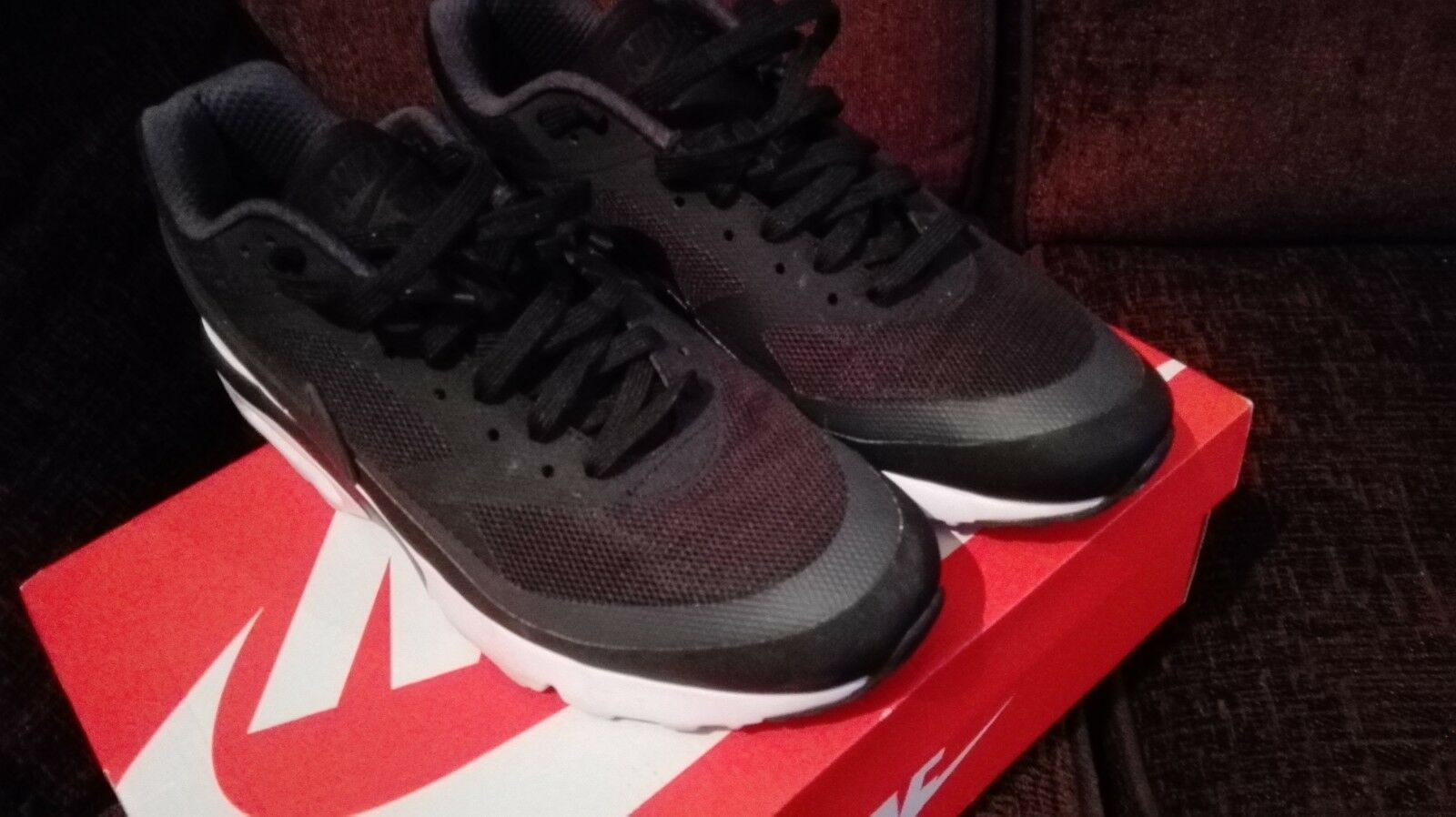 Nike AIR MAX MAX MAX BW Ultra Classic Scarpe Da Ginnastica Nero/Bianco Taglia d96988