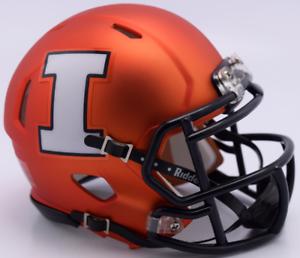 ILLINOIS-FIGHTING-ILLINI-NCAA-Riddell-SPEED-Mini-Football-Helmet