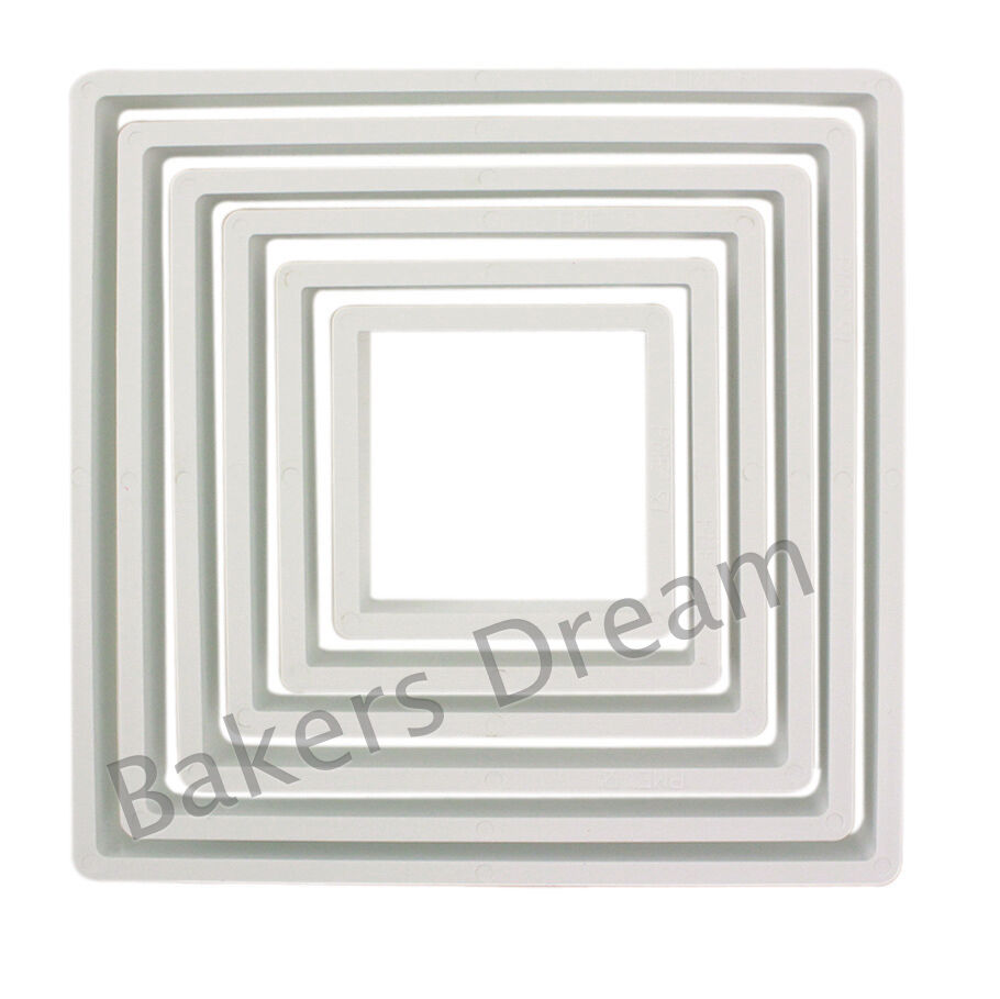 PME QUALITY ROUND COOKIE CUTTER SET 6 CUTTERS FROM 45MM TO 125MM
