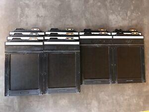Linhof 10 Doppel Planfilmkassetten Filmhalter Film Holder 9x12 cm