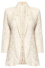 NEXT Cream Lace Blazer Jacket Casual Party Formal Women Blazer Bloggers Size 8
