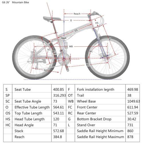 "Eurobike 26/"" Foling Mountain Bike Full Suspension 21 Speed Bicycle Disc Brakes"