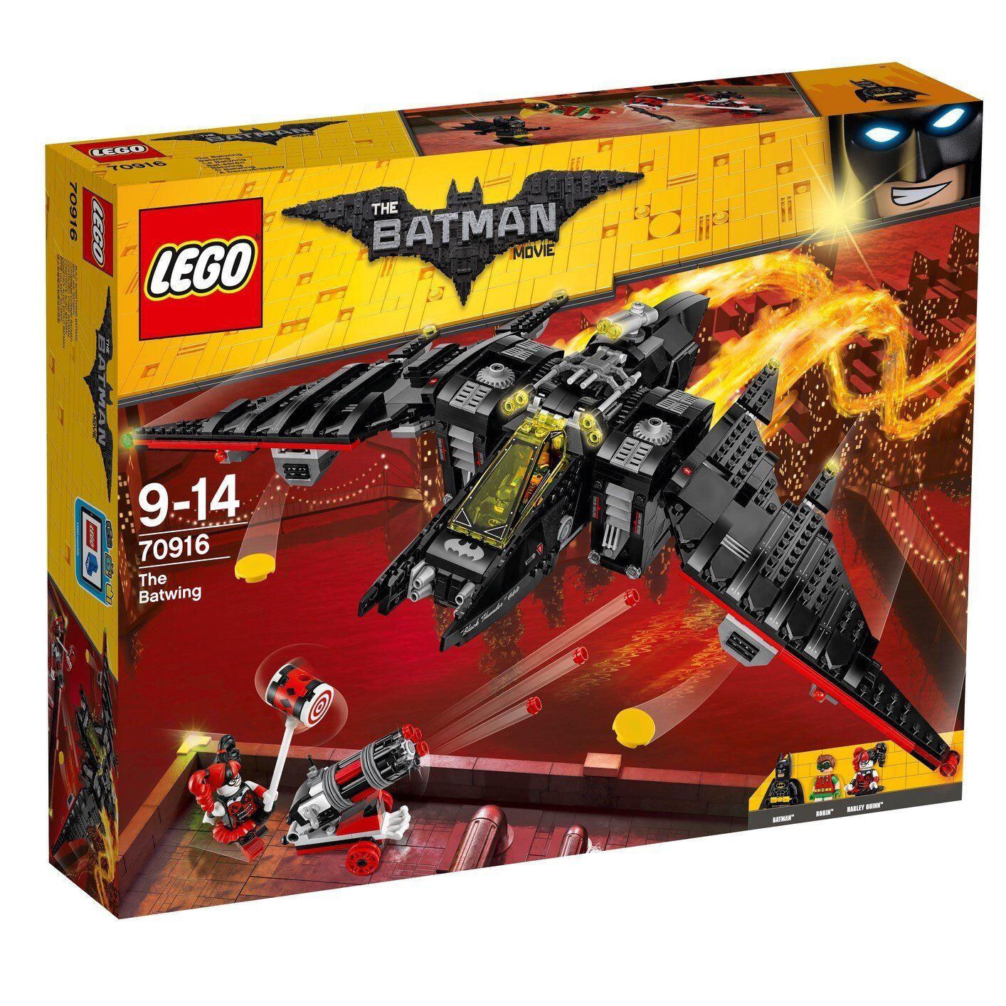 LEGO 70916 il film LEGO BATMAN-il Batwing * NO Minifigures * Nuovo Di Zecca in Scatola