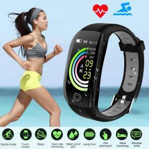 Für HUAWEI Samsung Smartwatch Fitness Tracker Wasserdicht IP68 Armband uhr DHL