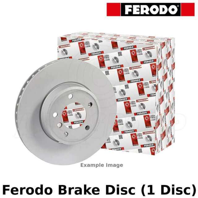 Ferodo Disco Freno Trasero (Individual) - 305mm,Resistente - FCR236A - Calidad
