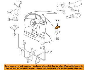 Details about VW VOLKSWAGEN OEM 04-10 Beetle Airbag Air Bag SRS-Front on