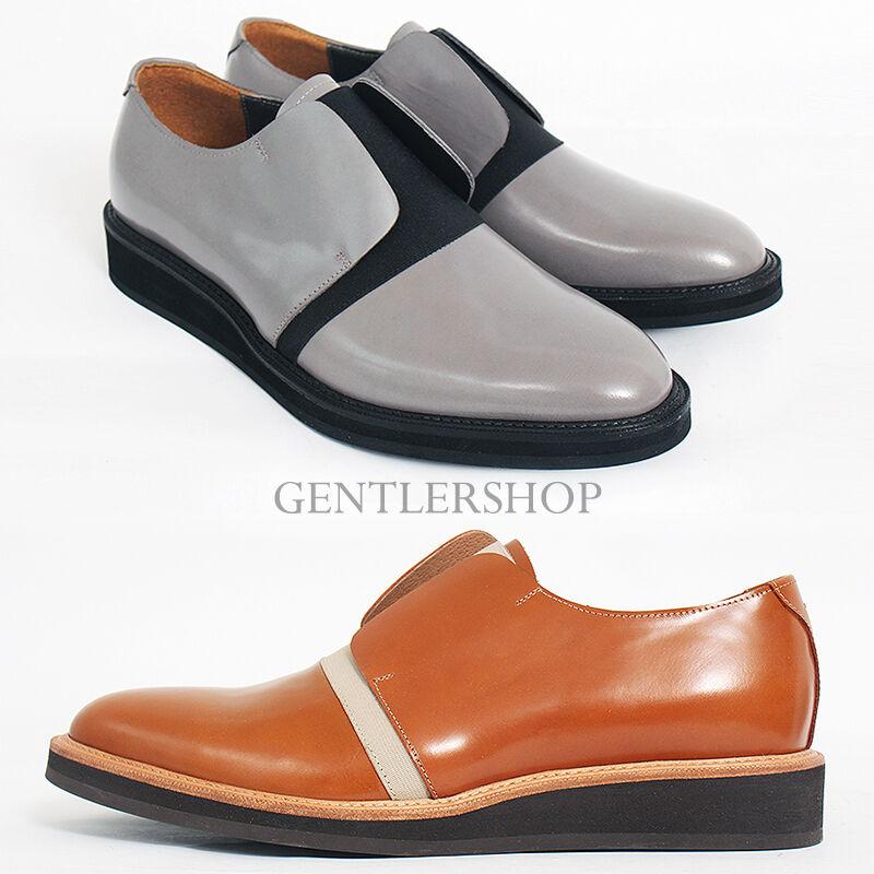 Para Hombre Fashion formal no encaje Vendaje formal zapatos hechos a mano 4130, gentlershop