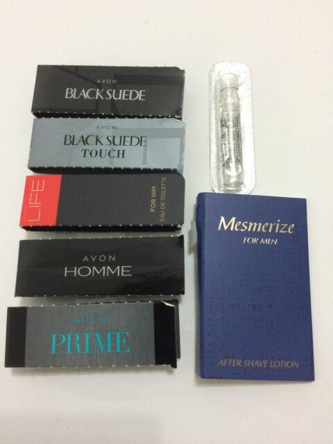 Avon Mixed Mens Cologne/Perfume Samples x 7