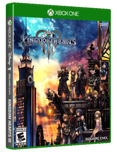 Kingdom-Hearts-III-3-USED-SEALED-Microsoft-Xbox-One-2019
