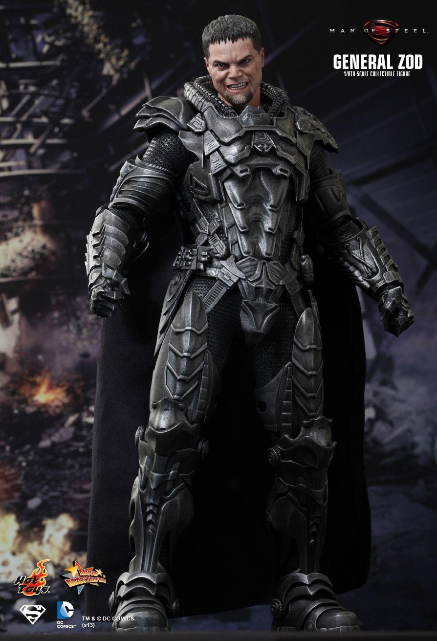 Hot Toys 16 Dc El Hombre de Acero Figura De Superman MMS216 General Zod obra maestra