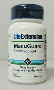MacuGuard Ocular Support by Life Extension, 60 softgels