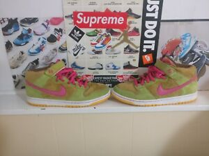 newest 3a3a2 0e865 Details about Nike Dunk SB Mid Premium Mens Size 11 Mama Bear Light Umber  Watermelon