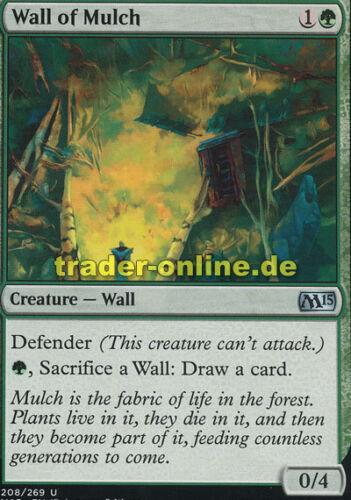 2x Wall of Mulch Magic 2015 M15 Magic Mulchmauer