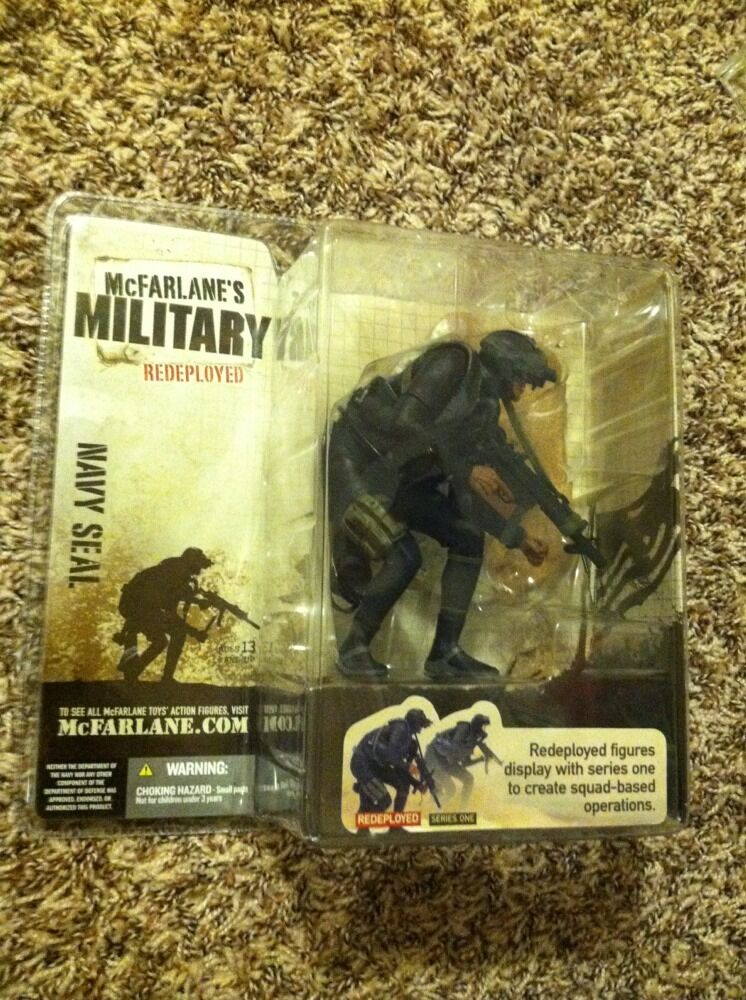 McFarlane's Military Redeployed Series 1 Navy Seal, 2005