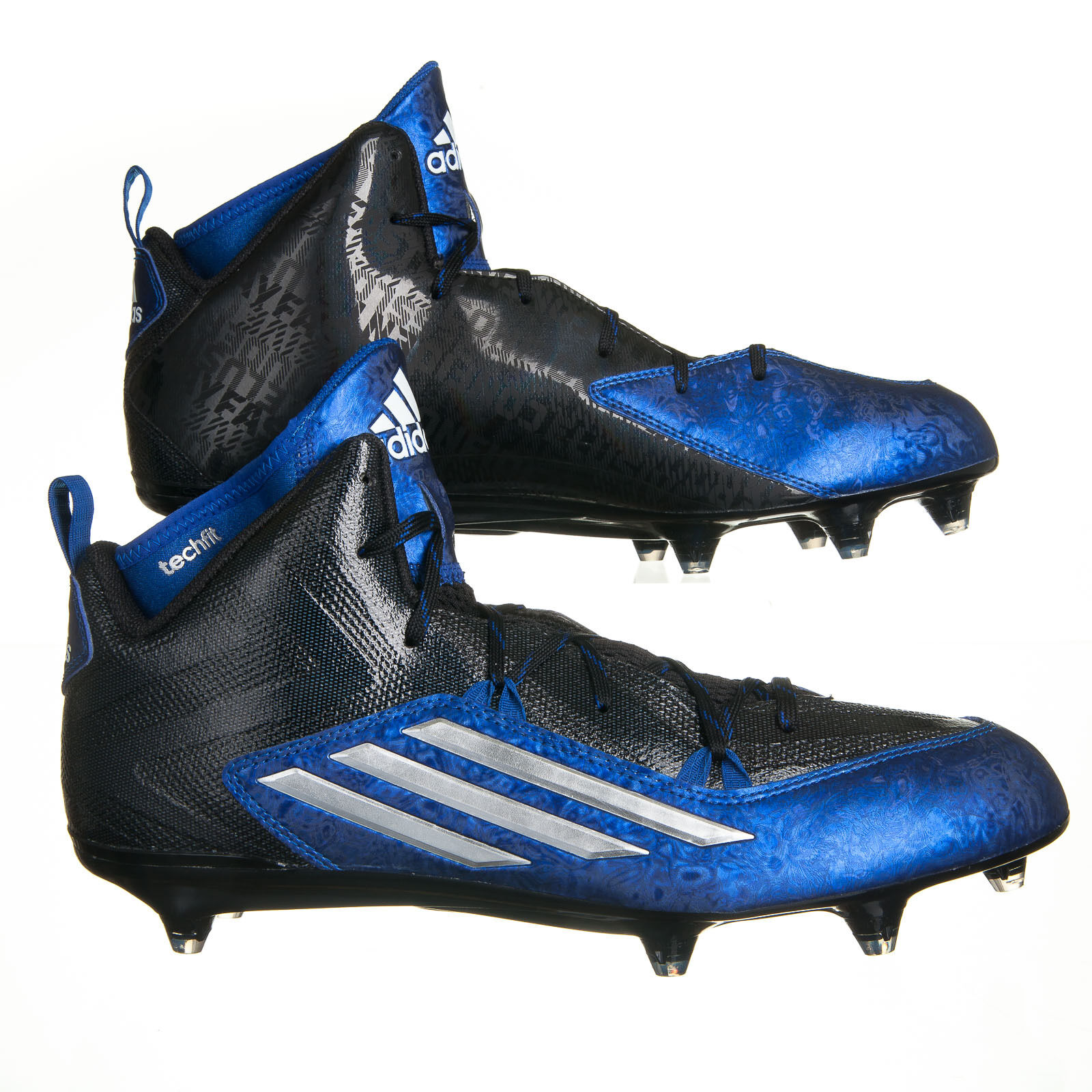 Adidas Crazyquick 2.0 Mid Blue Black Football Cleats - Mens SIze 13.5 Price reduction best-selling model of the brand