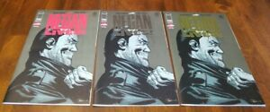 The-Walking-Dead-NEGAN-LIVES-Set-GOLD-SILVER-RED-Image-Comics-SkyBound-New
