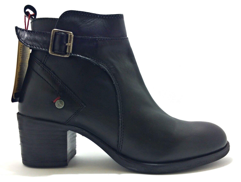 Wrangler Cameron Botín Wl172600 Zapatos botas botas de Mujer Piel Ante