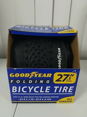 "Goodyear 91066 Folding Bicycle Tire All Terrain 27.5/"" x 1.75 27.5/"" x 2.125"
