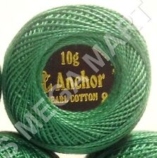 Anchor Pearl Cotton Pastel solid Embroidery Crochet thread Ball size 8 85m