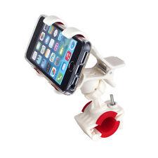 Fahrrad Handy Halterung Apple iPhone 5 5S Halter Motorrad Rad Bike Holder Weiß
