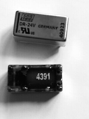 10 x 5V Subminiature PCB Signal Relay 1A SPDT HFD41
