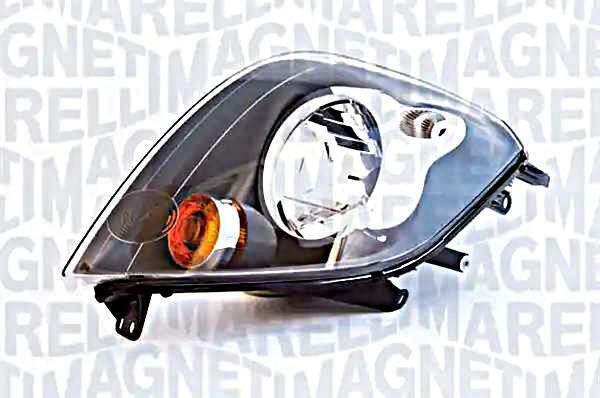 Halogen Headlight Front Lamp Right Fits Ford Fiesta Ikon