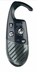 image is loading conair pollenex black water resistant hanging shower bathroom - Bathroom Radio