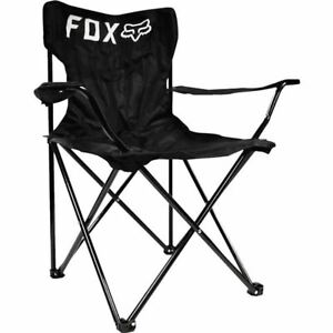 Black Fox Racing Folding Chair Ebay