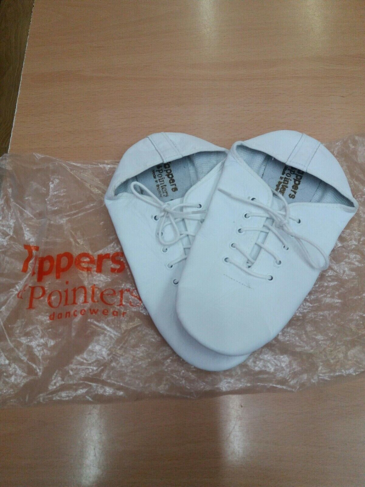 Tappers&pointers Split Sole Jazz Shoes Size 3