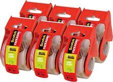 6 Rolls Scotch Carton Sealing Mailing Moving Box Shipping Packing Tape Seal