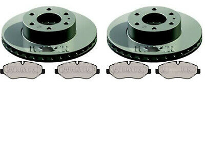 IVECO DAILY 2.3 3.0 QUALITY REAR BRAKE DISCS AND PADS REAR SINGLE WHEEL