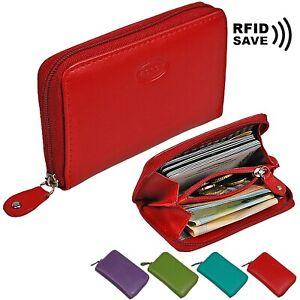 Damen Brieftasche Geldbeutel Mini Geldbörse Lederbörse Münzbörse Portmonee Börse