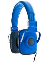 Wesc Maraca Imperial Blue Unisex Foldable Headphones With Microphone