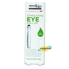 Derma V10 Revitalising Eye Roll On 15ml Caffeine Cucumber Extract No Paraben