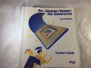 INTEL-The-Journey-Inside-The-Computer-Pentium-CPU-Teacher-039-s-Guide-amp-Slides