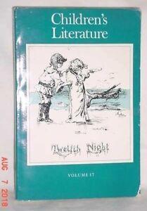 CHILDREN-039-S-LITERATURE-VOLUME-17-1989-PAPERBACK-YALE-UNIVERSITY-PRESS-GOOD-COND