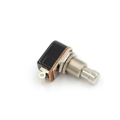 New Electric Guitar Switch Momentary Push Button Foot Switch SPST 2LA