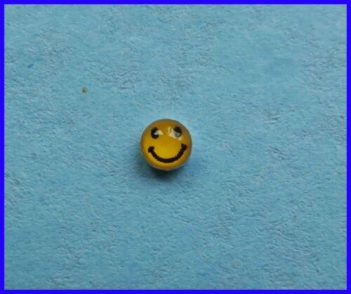 nuevo!!! Plata esterlina 925 sonriente cara para Nariz!!!
